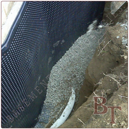 Basement waterproofing exterior waterproofing services for Exterior waterproofing products