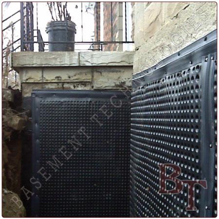 Basement Waterproofing - Exterior Waterproofing Services