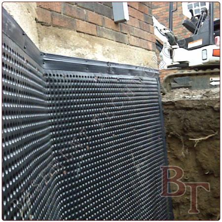Basement Waterproofing Exterior Waterproofing Services