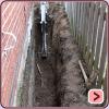 External Waterproofing - Excavator Digs