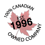 100% Canadian Owned - BT Est. 1996